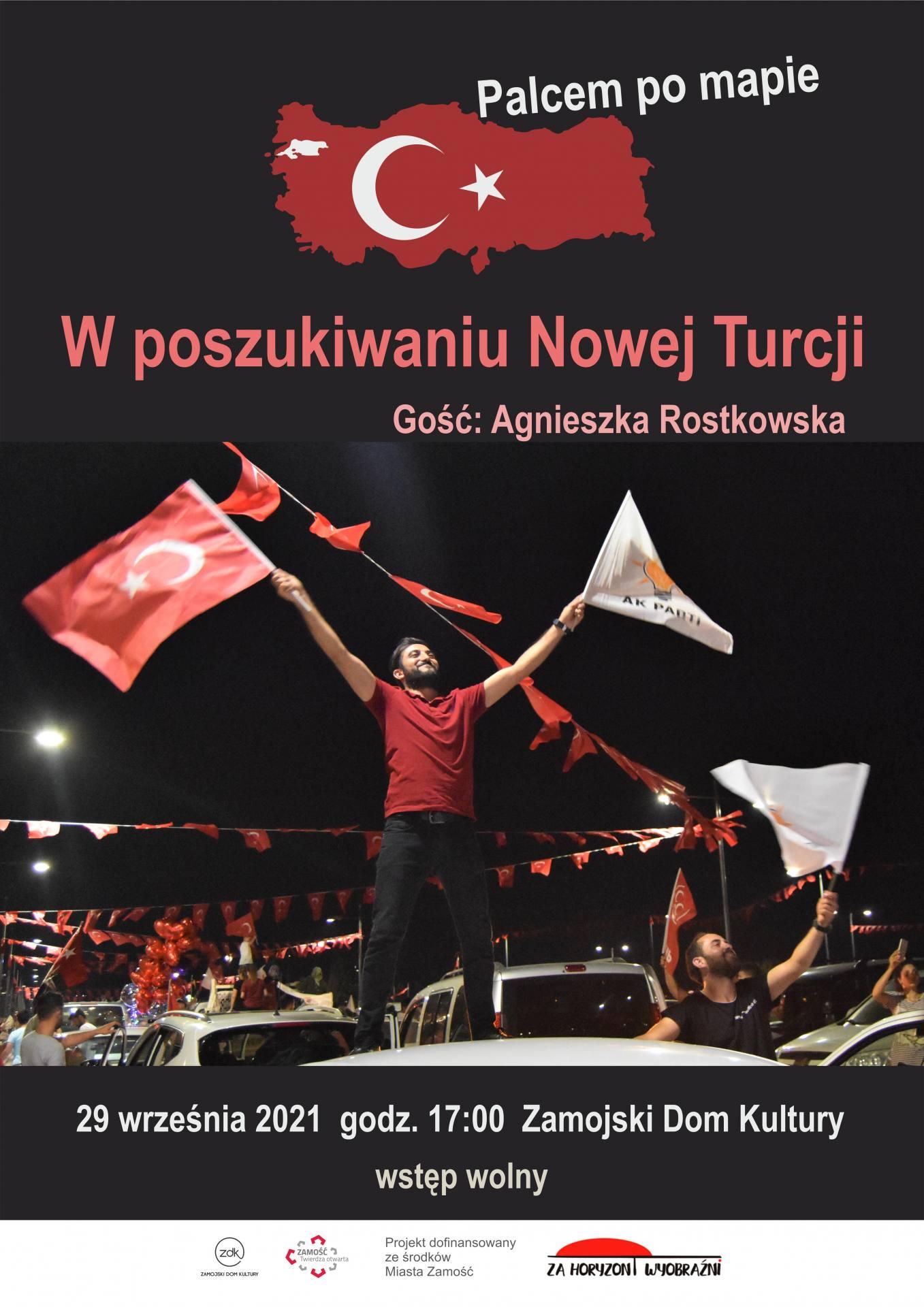 21 za horyzont turcja afisz ZDK zaprasza na wycieczkę do Turcji