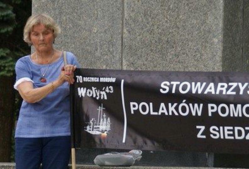 241715958 4290610974368663 8144040829807169610 n Zmarła Janina Kalinowska, przewodnicząca Stowarzyszenia Upamiętniania Polaków Pomordowanych na Wołyniu