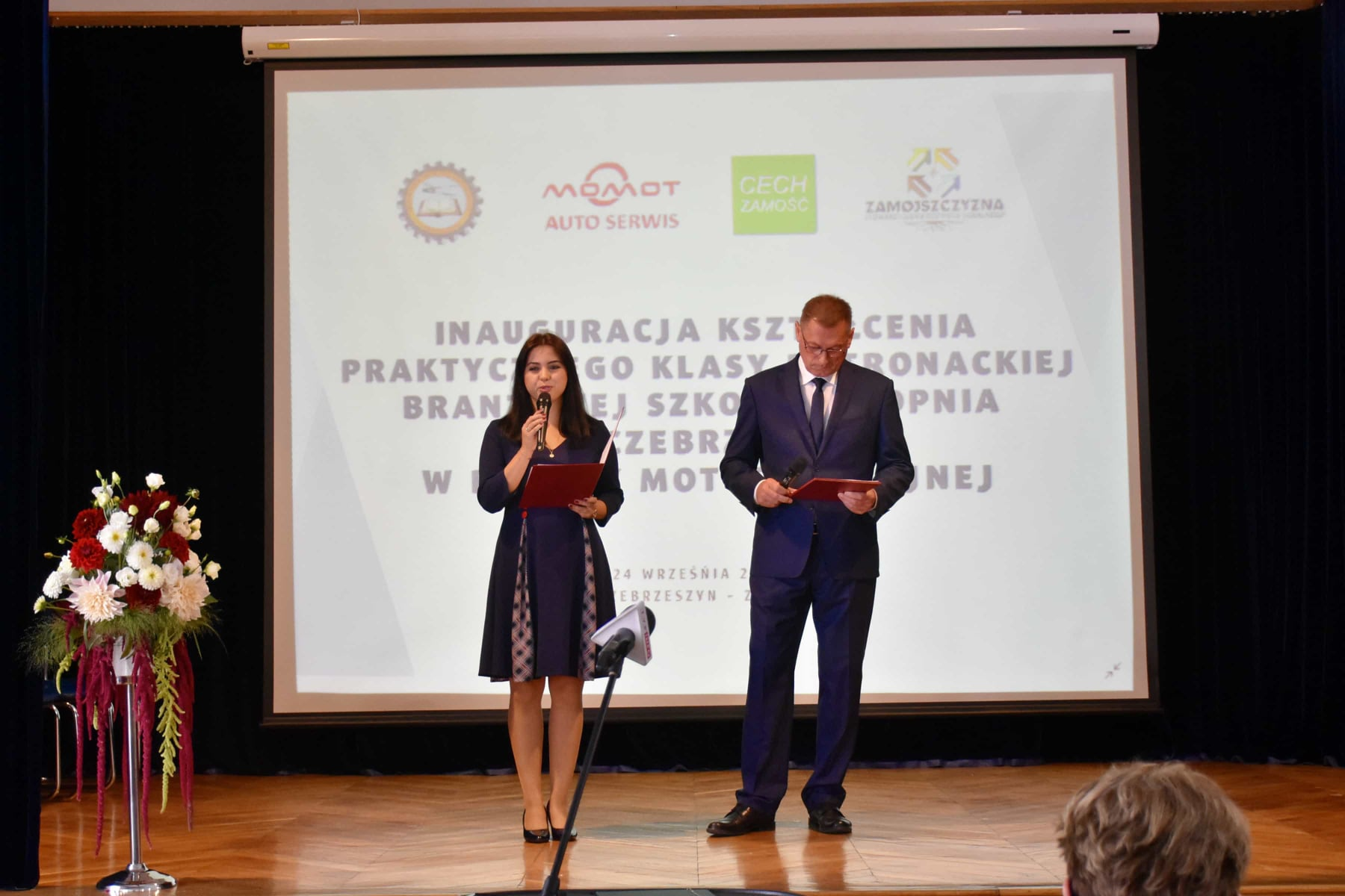242680924 119313673801095 3947718077654108745 n Wizyta ministra Przemysława Czarnka w Branżowej Szkole w Szczebrzeszynie