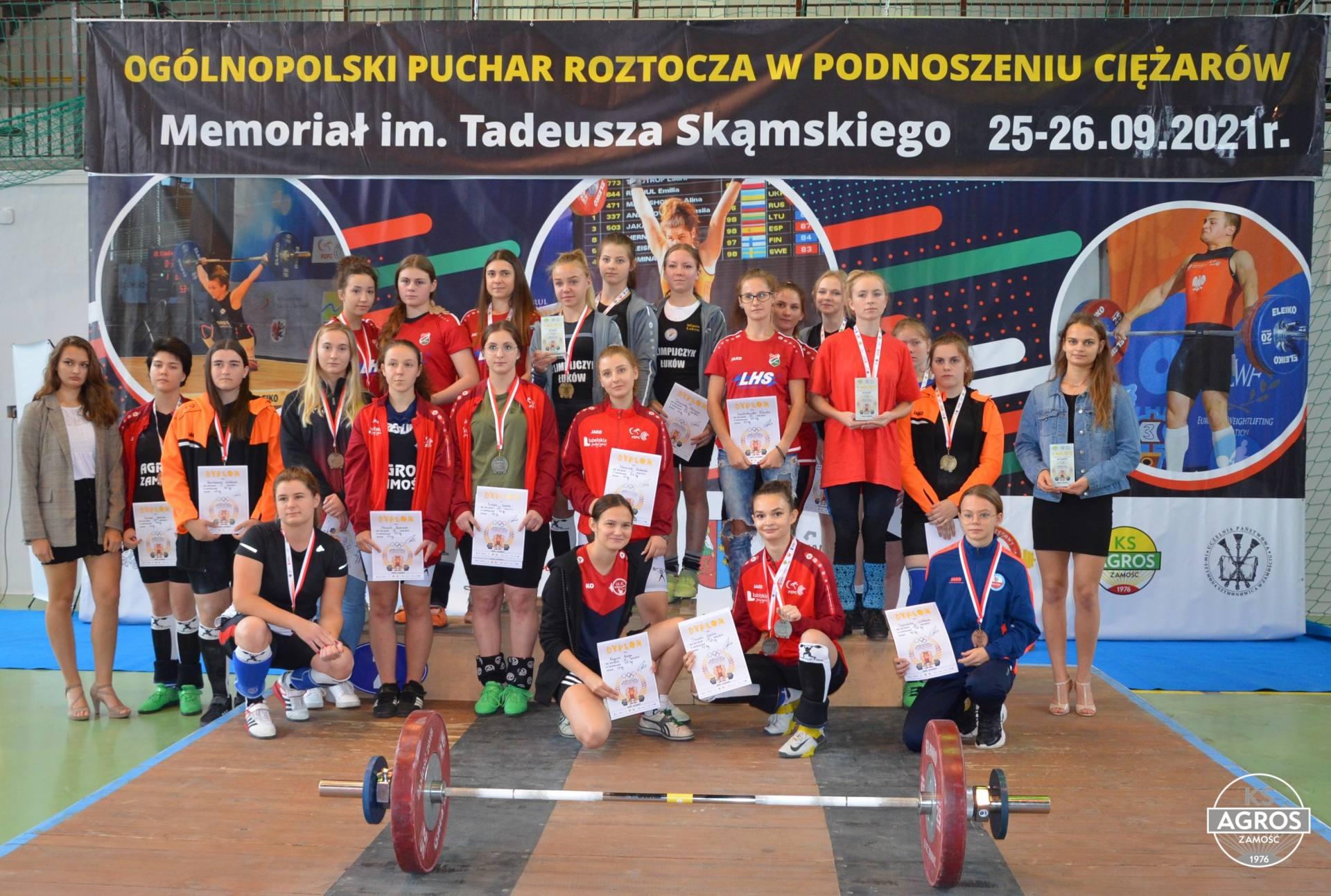 dsc 0604 Za nami Ogólnopolski Puchar Roztocza w Podnoszeniu Ciężarów 2021 - Memoriał im. Tadeusza Skąmskiego.