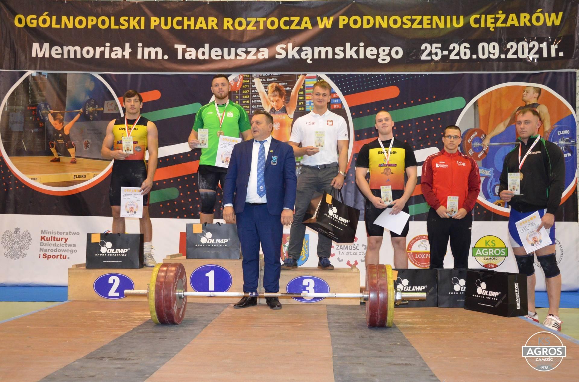 dsc 0753 Za nami Ogólnopolski Puchar Roztocza w Podnoszeniu Ciężarów 2021 - Memoriał im. Tadeusza Skąmskiego.