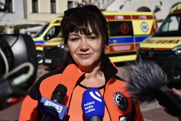 dsc 4289 Poświęcenie i przekazanie nowych ambulansów oraz wręczenie odznaczeń medykom [ZDJĘCIA]