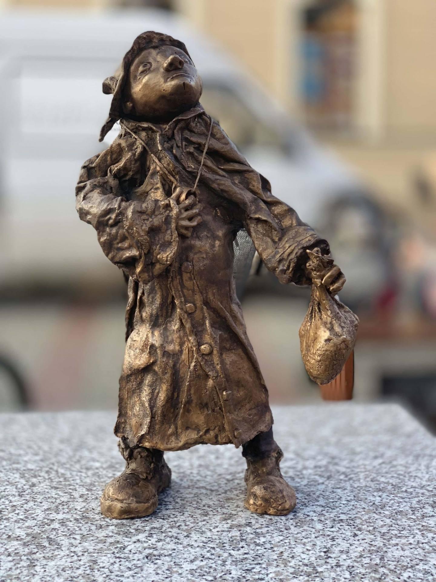 img 9777 Złodziej figurek z zamojskiej starówki zatrzymany (zdjęcia)