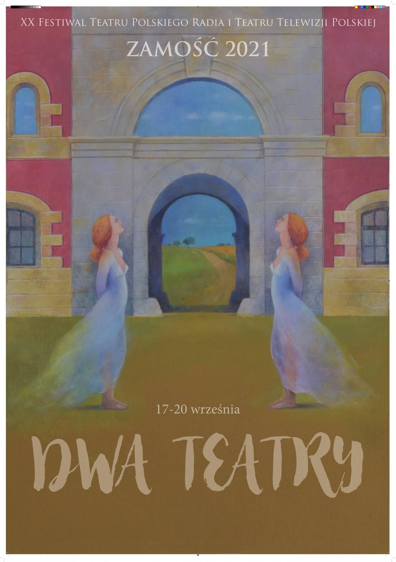 plakat glowny 2t 1 Festiwal Dwa Teatry zagości w Zamościu. Co w programie wydarzenia?