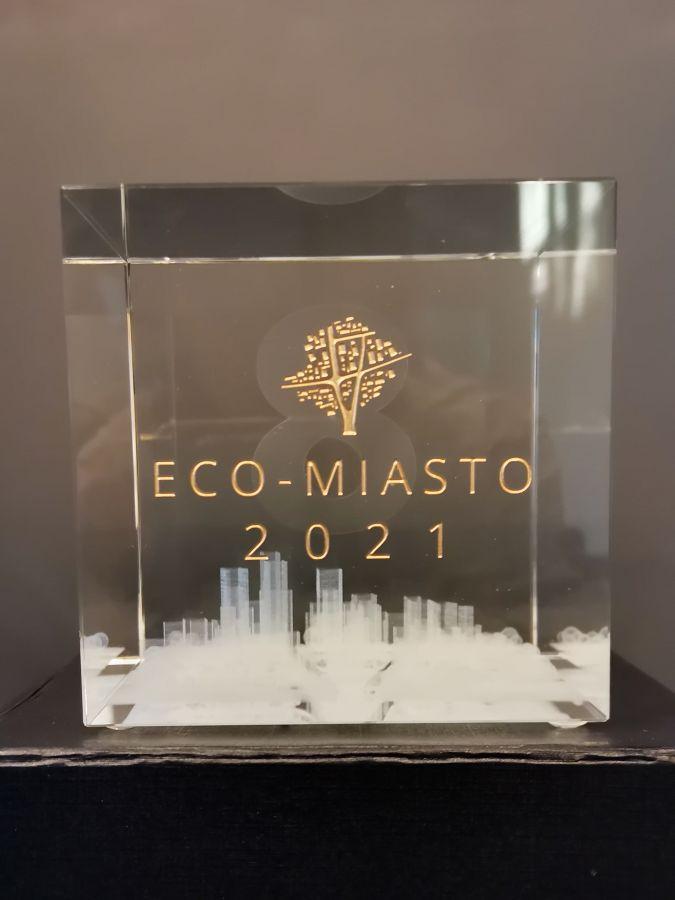 12891b Miasto Zamość laureatem konkursu ECO-MIASTO