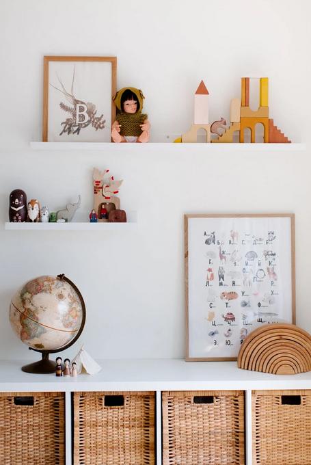 4 Jak oryginalnie udekorować ściany pokoju dziecięcego?