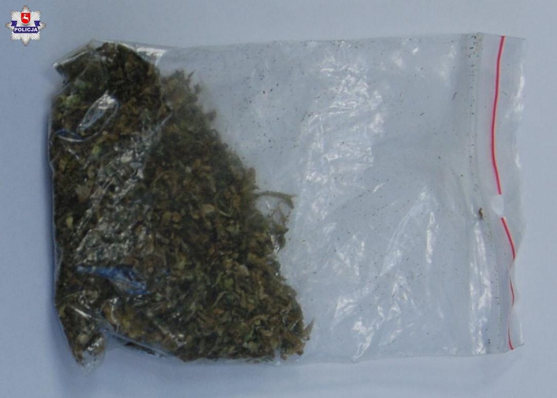 68 191842 Marihuanę schował w bieliźnie