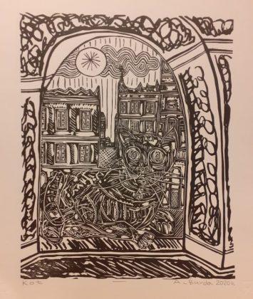 arek9 Anioły Arka spod zamojskich arkad – o wystawie grafiki w