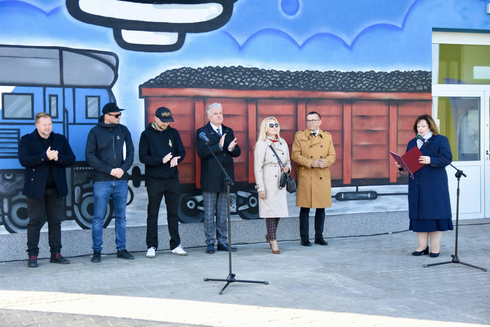 dsc 5605 Nowy mural zdobi budynek zamojskiego