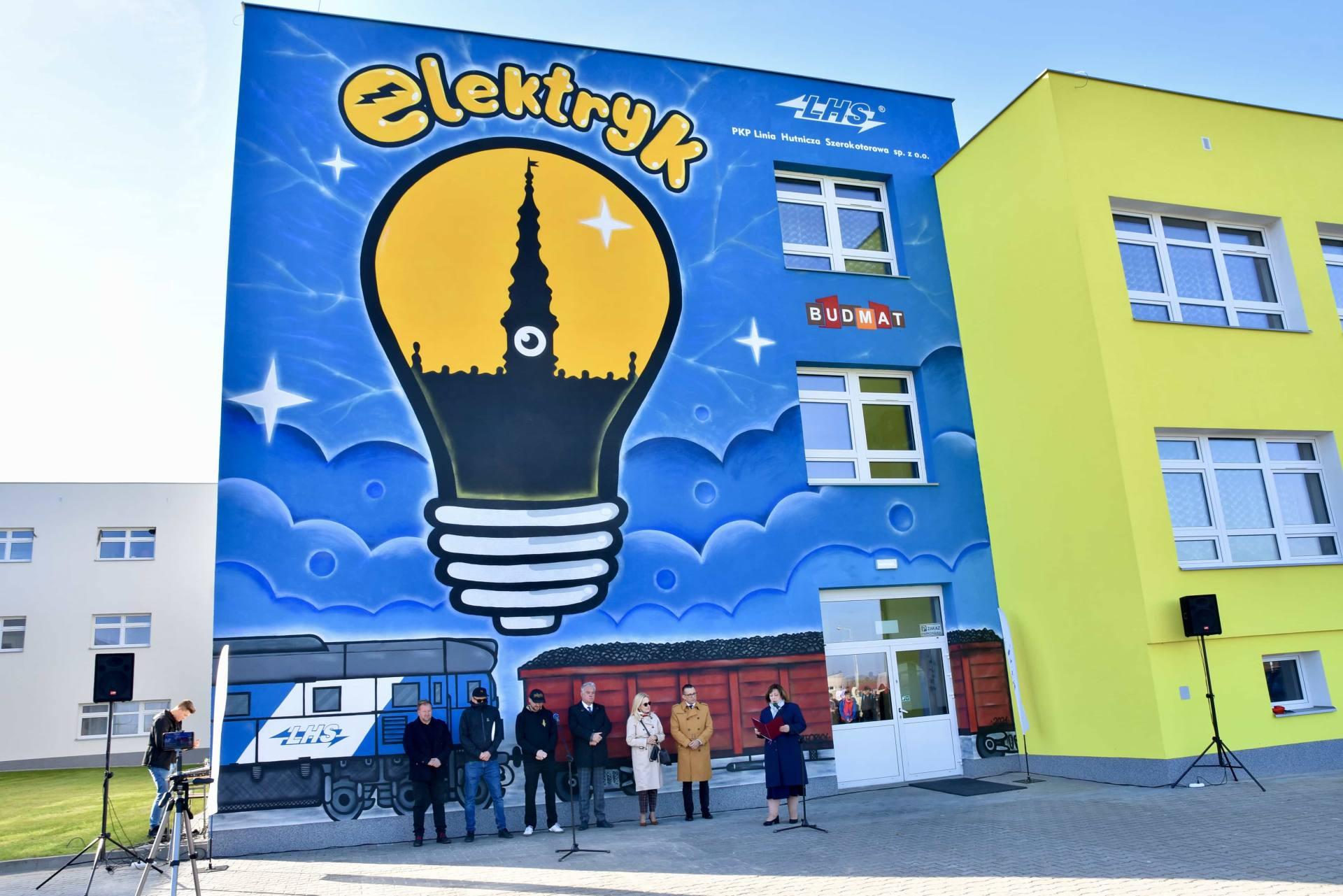 dsc 5614 Nowy mural zdobi budynek zamojskiego