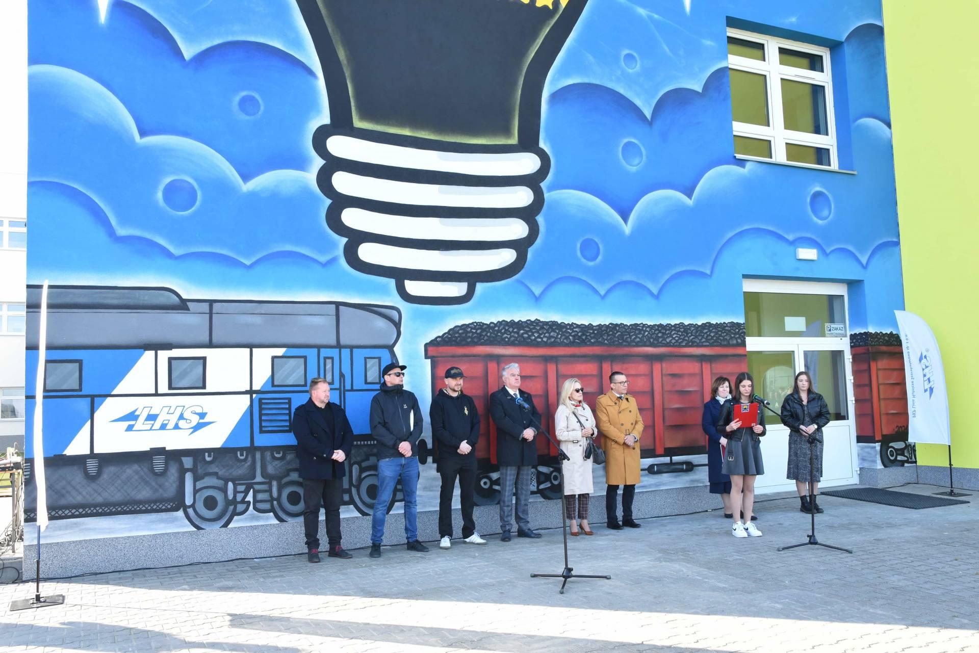 dsc 5616 Nowy mural zdobi budynek zamojskiego