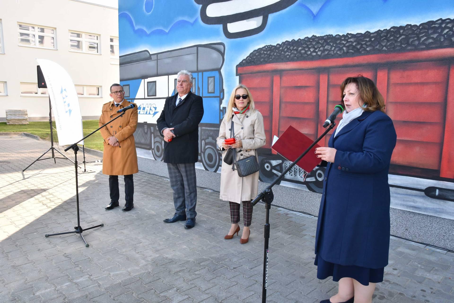dsc 5631 Nowy mural zdobi budynek zamojskiego