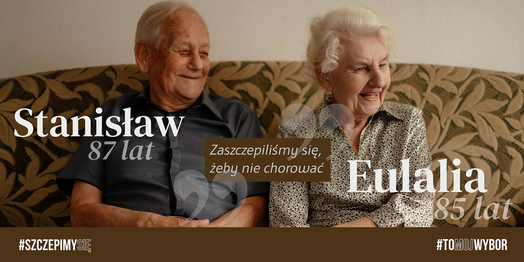 k4 Kampania proszczepionkowa w Zamościu. W roli głównej seniorzy.