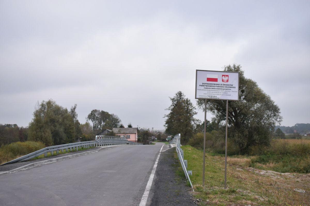 zrzut ekranu 2021 10 14 o 103053 Przebudowany most i nowe nawierzchnie asfaltowe